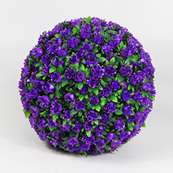Artificial Topiary Ball C026 Purple